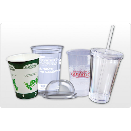 Cups/lids (slush/shakes)