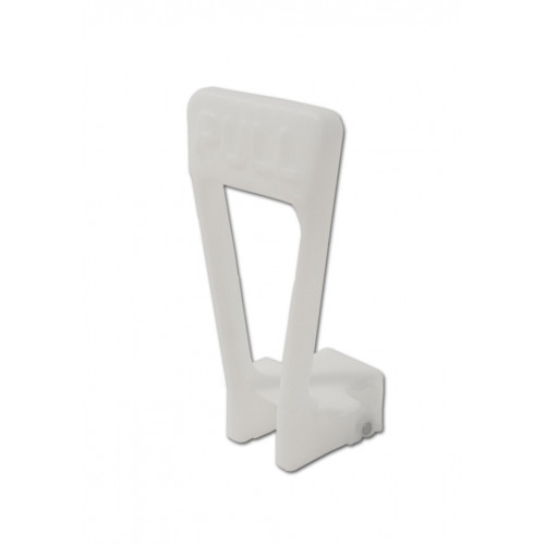 Tap handle SPM, white - triangle shape - from 5 Liter