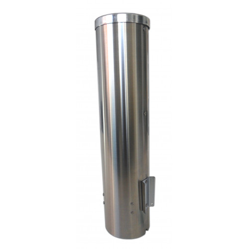 Cup dispenser 300 ml, stainless steel
