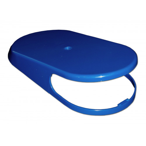 Bowl cover lid UGOLINI/BRAS, blue