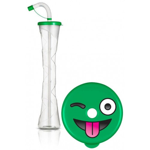 EMOJI Yard-Cup 400 ml, dark green lid
