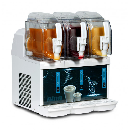 Mini-Frozen Milkshake-Machine NINA 3 x 1,5 litres white