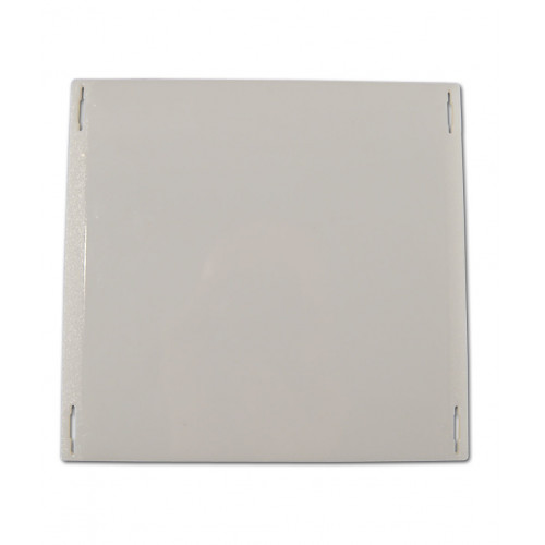 Rear photo cover opal plate SPM, white