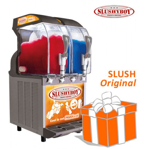 SLUSHER ECO 2 x 11 litres nobel gray, model 2019,...