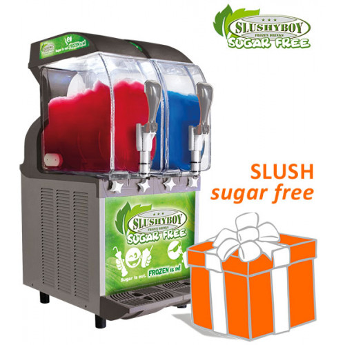 SLUSHER ECO 2 x 11 liter, nobel gray, model 2019,...