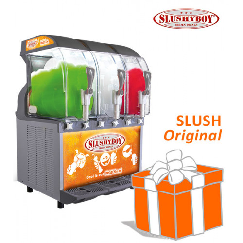 SLUSHER ECO 3 x 11 litres nobel gray, model 2019,...