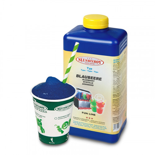 SLUSHYBOY Blueberry - 1 litre