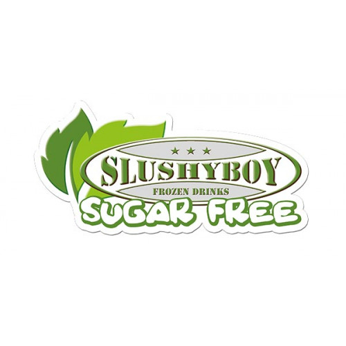 SLUSHYBOY SUGAR FREE Sticker for front panel