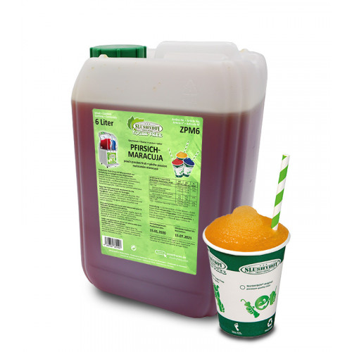 SLUSHYBOY Original - Peach-Passion Fruit - 6 litres