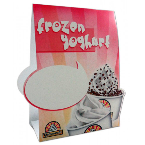Table Tent - Frozen Yoghurt