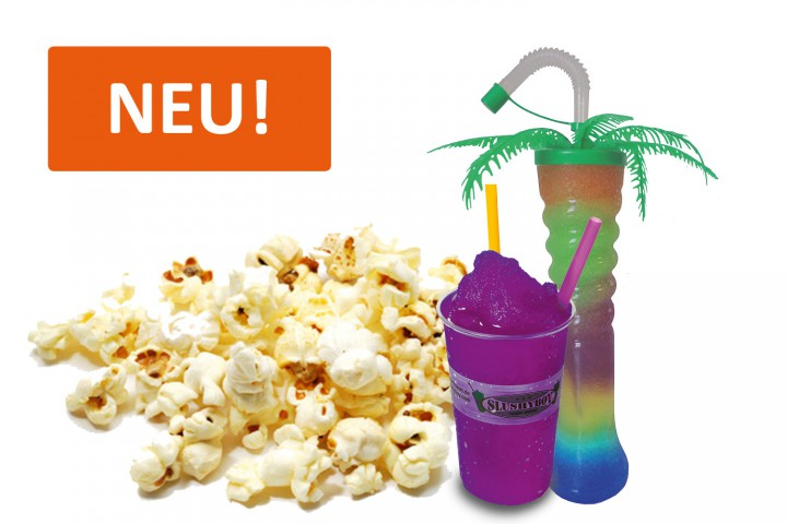 Neue Slush-Sorte: PURPLE POPCORN